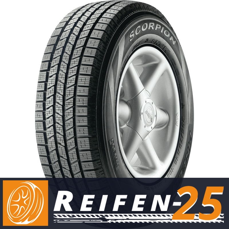 1x-Offroadreifen-PIRELLI-SCORPION-ICE-amp-SNOW-295-40-R20-110V-XL-RB-E-DOT-2012